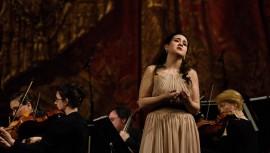 La soprano guatemalteca en la competencia Francisco Viñas 2017. (Foto: Adriana González)