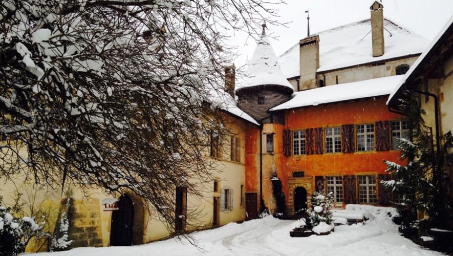 Así luce la residencia en Suiza en donde artistas podrán pasar el tiempo y trabajar en sus proyectos. (Foto: Arc Residency)