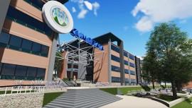Así lucirá el nuevo campus de la USAC en San Miguel Petapa. (Foto: Captura YouTube)