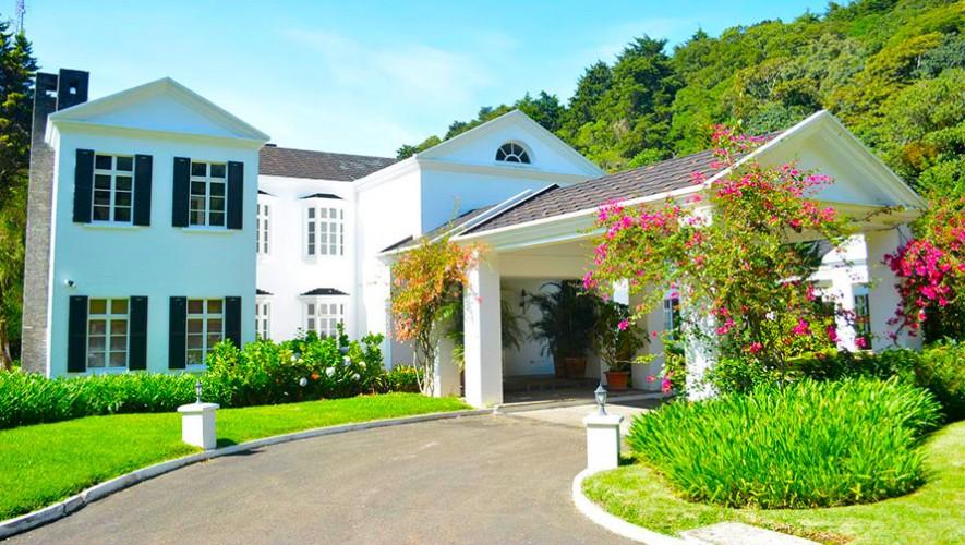Mansi n jard n ingl s hotel boutique mansiones en for Casa jardin guatemala