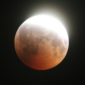 Eclipse parcial de Luna 2017