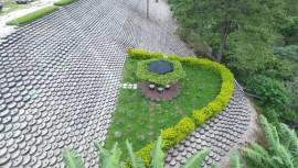 Así luce el Eco Muro, el muro ecológico más grande de Guatemala. (Foto: Fertilombriz)