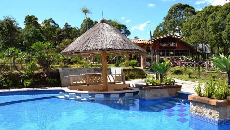 Finca xejuy deportes extremos y piscina al aire libre for Hoteles con piscinas naturales
