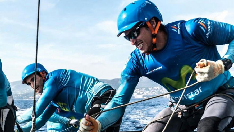Maegli formará equipo junto a dos medallistas olímpicos para poder romper el récord de esta competencia. (Foto: Ugo Fonollá)