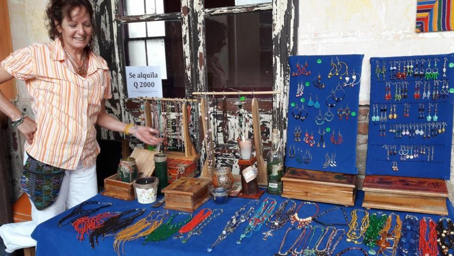 Feria de artesanías en La Majo, Casa de Té y Arte   Enero 2017