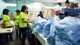 Sé un voluntario y ayuda a limpiar los espacios del Hospital General de Guatemala. Foto: Ministerio de Salud Pública y Asistencia Social Guatemala)