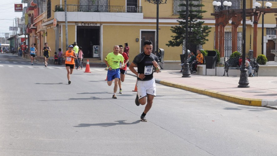 Media Maratón La Carrera de las Flores en Quetzaltenango | Febrero 2017