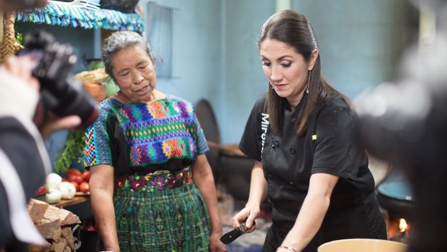A través de su programa televisivo, Mirciny Moliviatis busca dar a conocer la gastronomía guatemalteca e impulsar el talento nacional. (Foto: Mirciny Moliviatis)