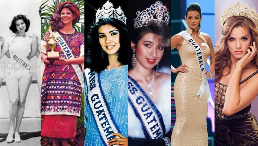 Descubre qué guatemaltecas lograron llegar más lejos en la historia de Miss Universo. (Foto: Miss Guatemala Beauty Perfect)