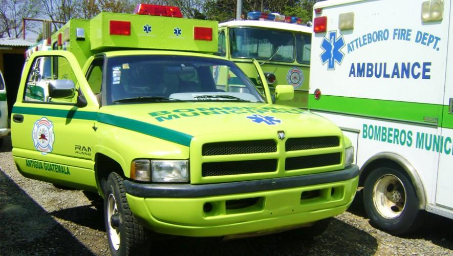 Si tienes una emergencia, aquí te dejamos una lista con  números de teléfonos útiles. (Foto: Bomberos de Antigua Guatemala)
