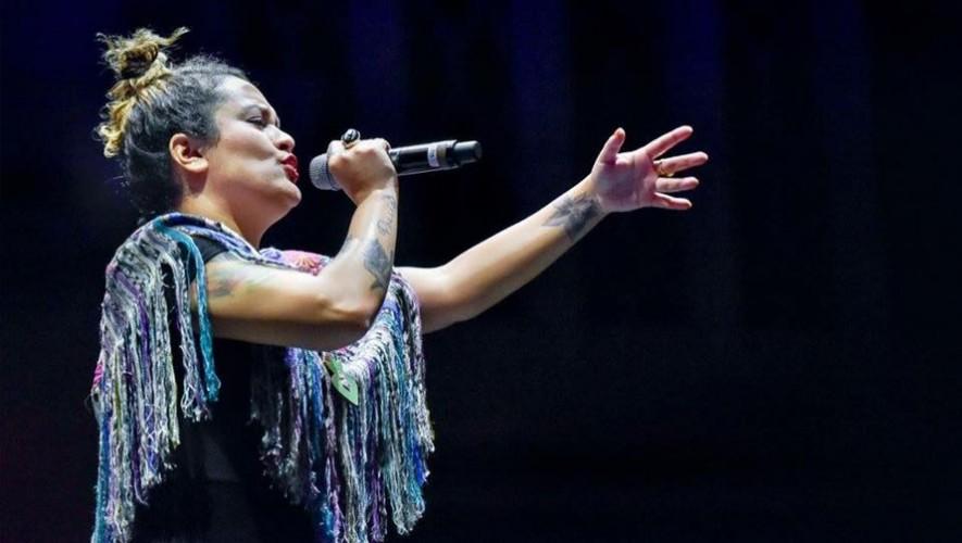 Concierto de Rebeca Lane en La Antigua Guatemala  Marzo 2017