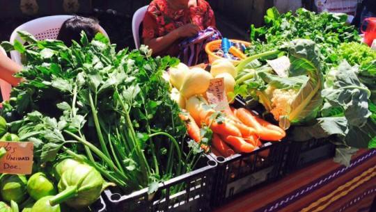 Saúl Farmer's Market todos los domingos en L'Ostería