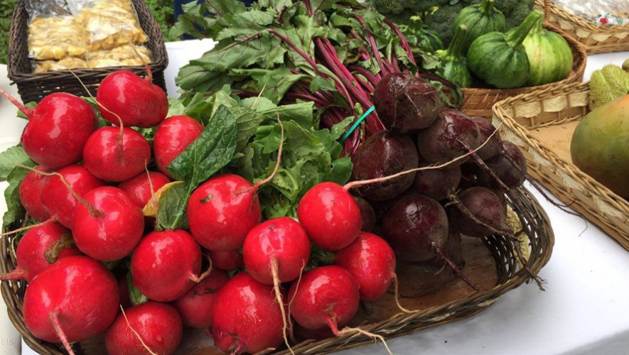 Primer Saúl Farmer's Market del 2017 en L'Ostería zona 10 | Enero 2017