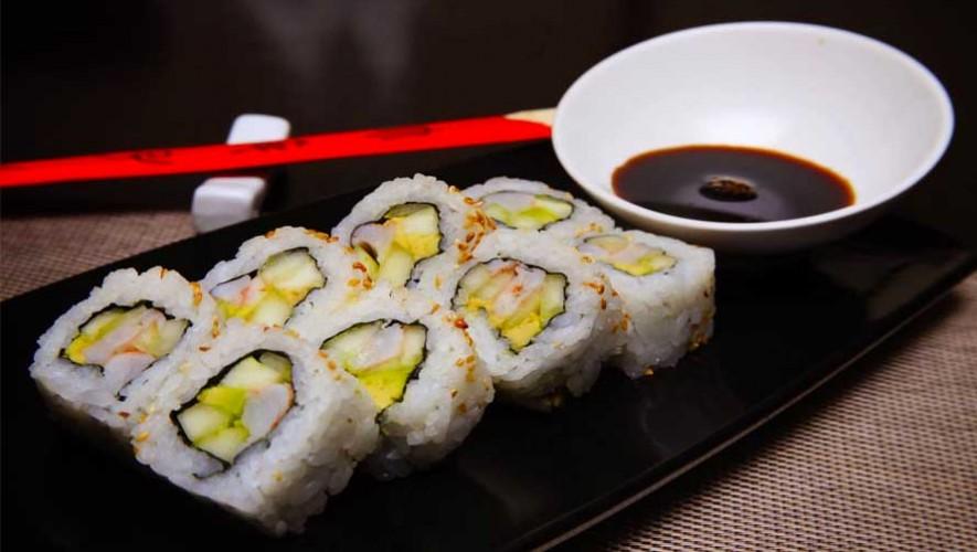 (Foto: Tanoshii Sushi Bar en Hotel Intercontinental)