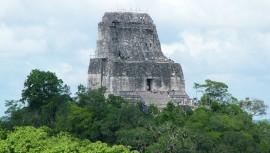 El Templo IV o de la Serpiente Bicéfala es el mayor atractivo de Guatemala. (Foto: oooh mrs)