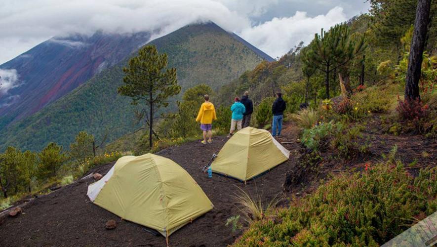 Únete al grupo de jóvenes que desean construir un refugio en el volcán Acatenango. (Foto: SkyscraperCity)