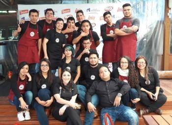 Participantes de Desafio Culinario. (Foto: Mirciny Moliviatis)