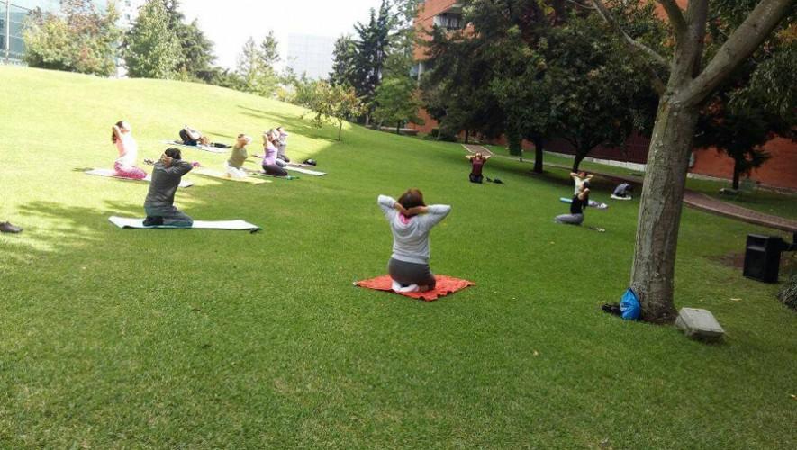 Clase de Yoga para corredores en Museo Miraflores   Enero 2017