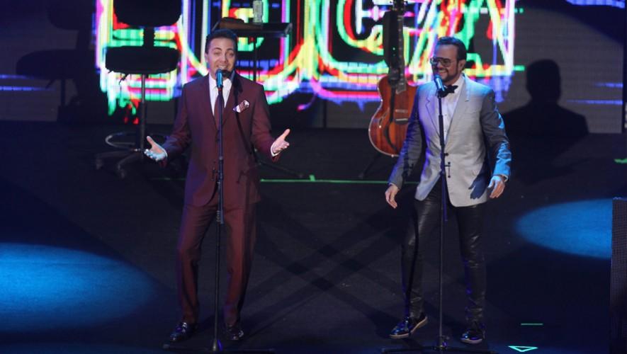 Concierto de Cristian Castro y Aleks Syntek en Guatemala | Febrero 2016