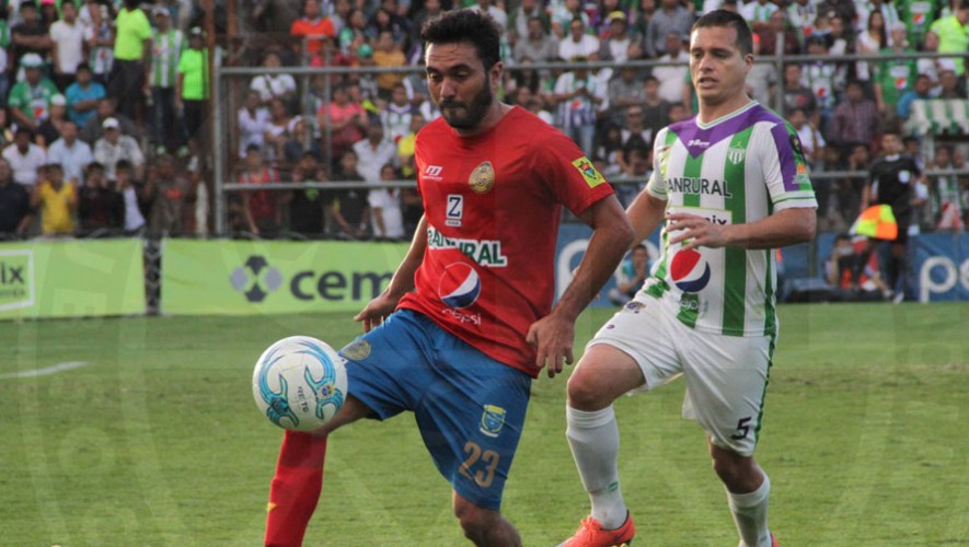 Partido de Antigua vs Municipal por el Torneo Clausura   Enero 2017