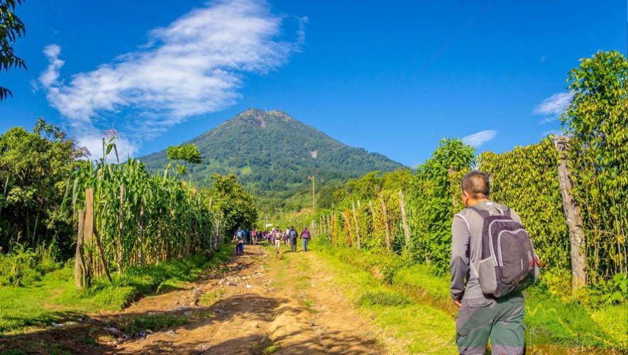 Ascenso al Volcán de Agua por Go2Guate   Enero 2017