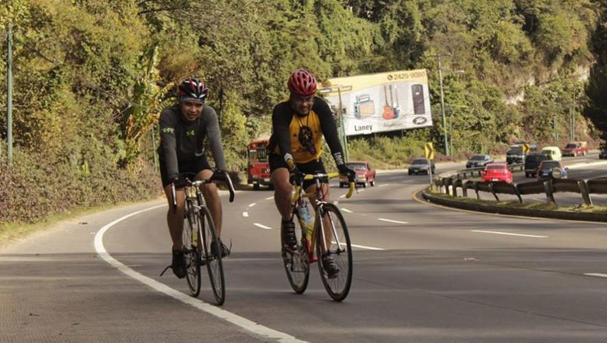 """Colazo en bicicleta """"Bicirol de Ascenso"""" en la Ciudad de Guatemala   Enero 2017"""