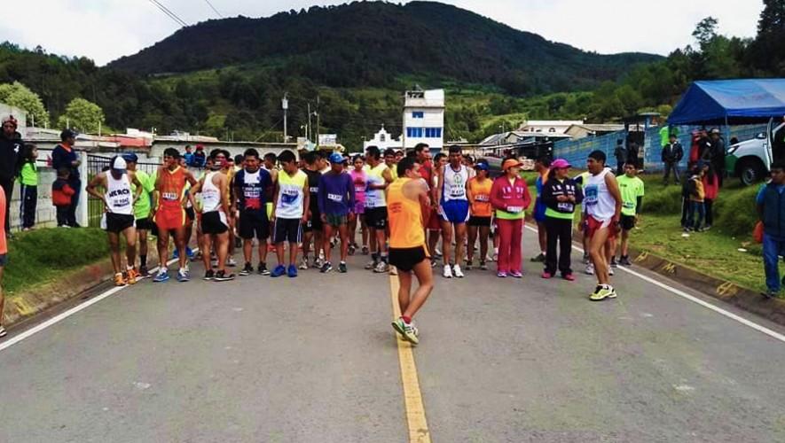 Carrera 12K Taca en Totonicapán | Enero 2017