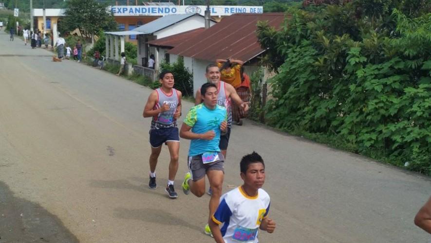 Carrera 12K en Tactic, Alta Verapaz | Enero 2017