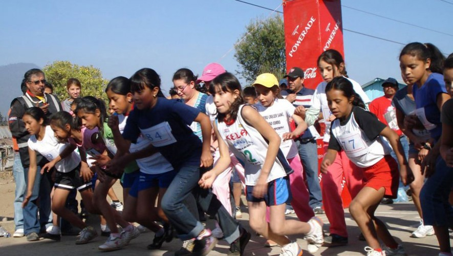 Carrera de Año Nuevo en Quetzaltenango   Enero 2017