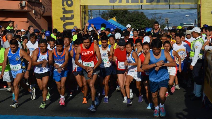 Carrera del Ingeniero 12K en la Ciudad de Guatemala | Enero 2017
