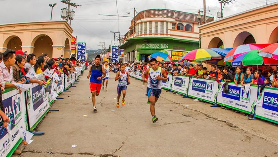 """Carrera """"No Tires La Toalla"""" en San Juan Sacatepéquez   Enero 2017"""