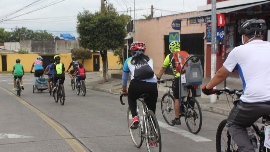 Colazo Familiar en bicicleta en Zona Portales | Enero 2017