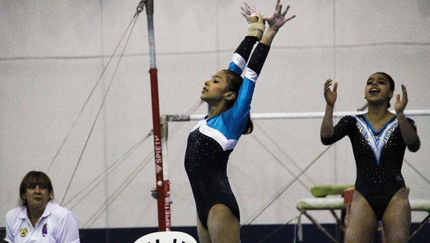 Las gimnastas tienen la oportunidad de compartir entrenamientos con atletas de alto nivel como Ana Sofía Gómez. (Foto: COG)