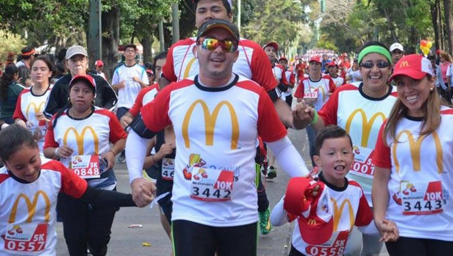 Cuarta Carrera Familiar de McDonald's en Guatemala | Febrero 2017
