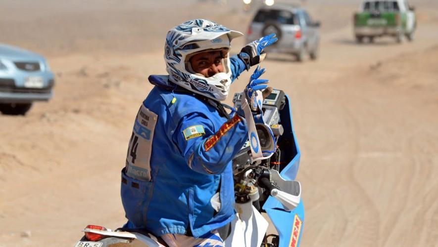Actualmente es el único latinoamericano con 12 apariciones consecutivas en un Rally Dakar. (Foto: Pal Andres Ullevalseter Offisielle Fanside)