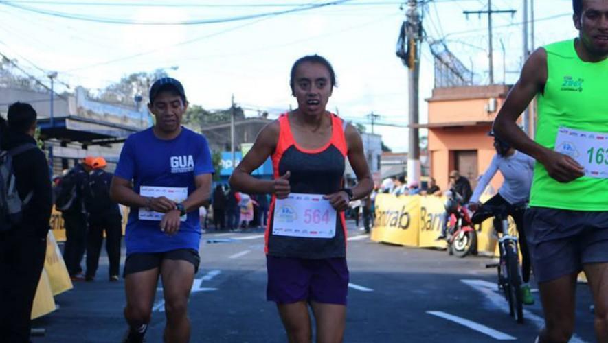 Heidy Villegas logró superar a Merlin Chalí en la categoría femenina. (Foto: Ciudad Deportiva)
