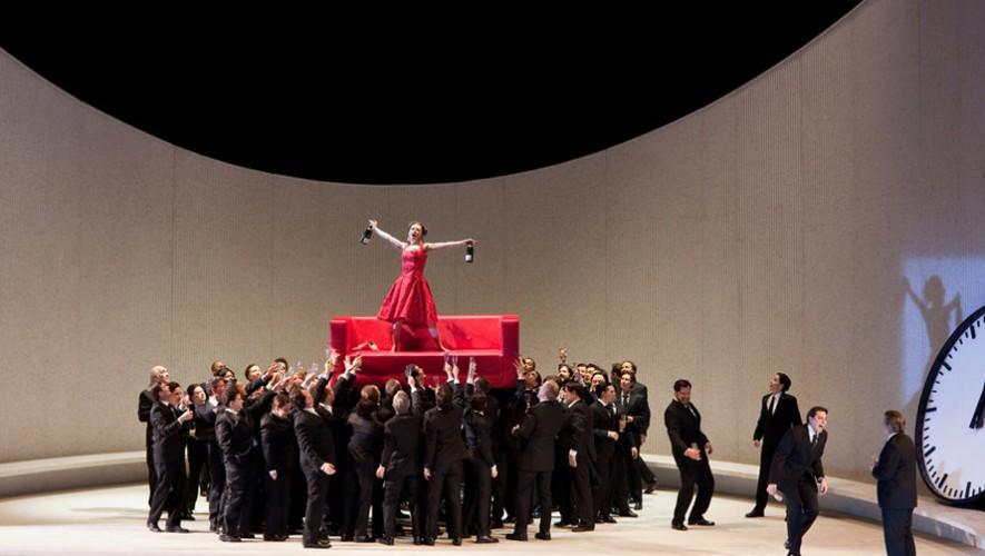 Ópera La Traviata en el Teatro Dick Smith en zona 4 | Marzo 2017