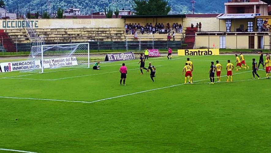 Partido de Petapa vs Marquense por el Torneo Clausura | Enero 2017