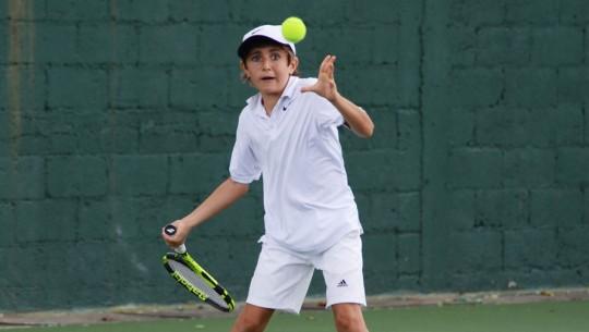 Las categorías infantil y juvenil tendrán su primera competencia de este 2017. (Foto: Federación Tenis de Campo de Guatemala)