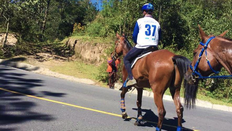 Las competencias del Ranking se realizaron en la Finca Caleras, ubicado en Tecpán. (Foto: Jinetes De Aventura Endurance)