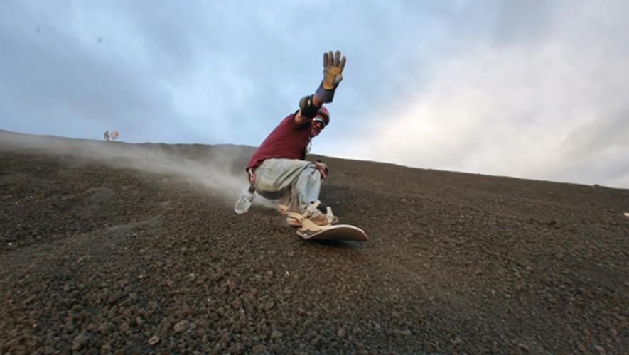 Viaje para hacer Sandboard en el Volcán de Pacaya, Escuintla   Marzo 2016