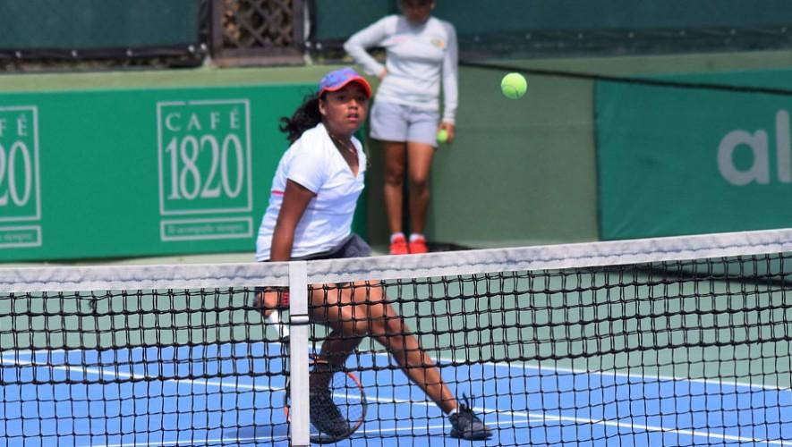 Sara venció a Ximena Morales en la gran final que se disputó en San José, Costa Rica. (Foto: Copa del Café)