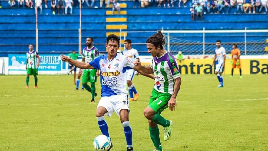 Partido de Suchitepéquez vs Antigua por el Torneo Clausura   Febrero 2017