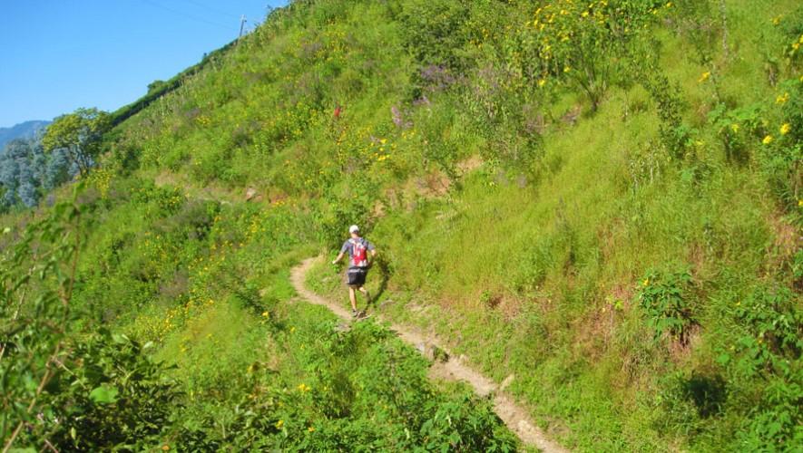 """Carrera """"Trail Run Entre Ruinas"""" en Tecpán   Febrero 2017"""