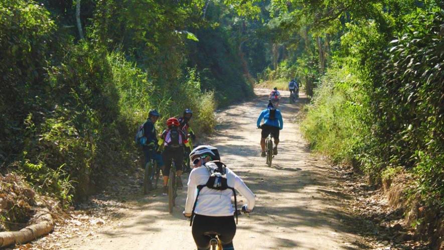 Travesía en bicicleta MTB en Monterrico   Enero 2017