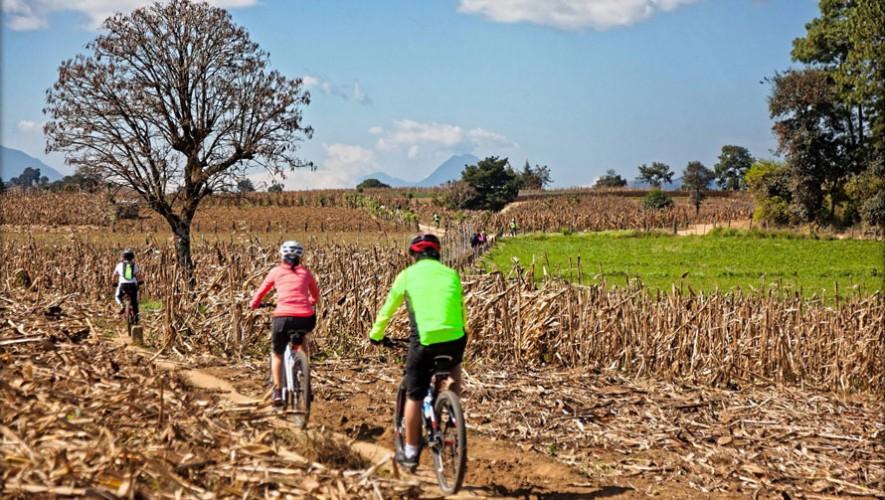Travesía MTB y Trail Run de Tecpán a Panajachel   Febrero 2017