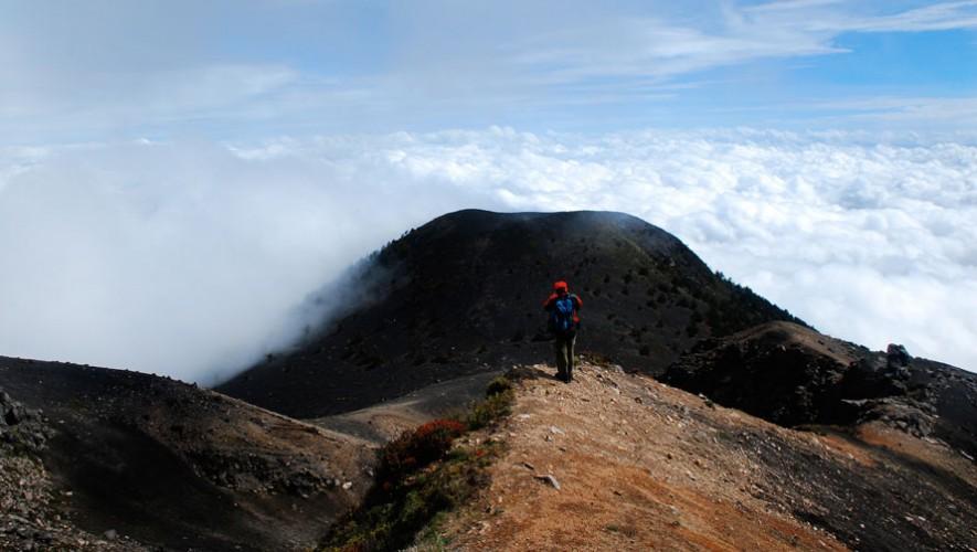 Ascenso al Volcán Acatenango por Explora Guatemala   Enero 2017