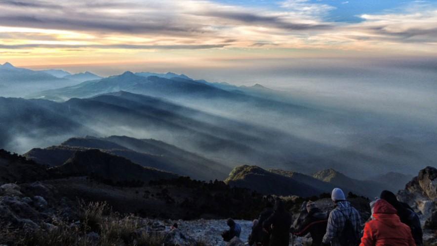 Ascenso al Volcán Tajumulco por X-Tours GT | Enero 2017