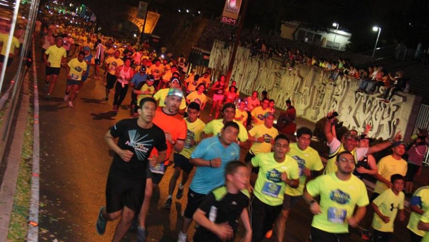 Carrera 10K Nocturna de la Ciudad de Guatemala   Marzo 2017