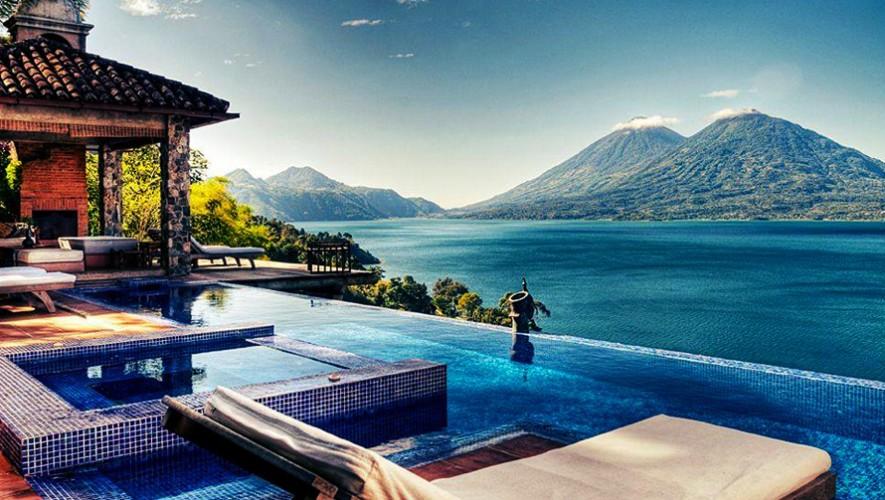 Ubicado frente al Lago Atitlán, Casa Palopó es uno de los mejores destinos románticos. (Foto: Kiwi Collection)